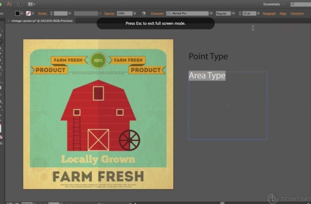 Adobe Illustrator Beginner Tutorials: How to Use Type in Adobe Illustrator