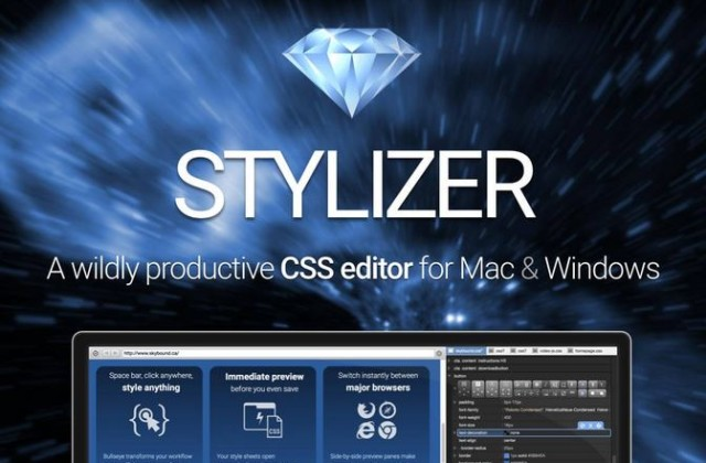 Stylizer: Real-time CSS editing app for Mac and Windows – only $47!