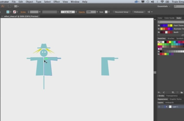 Adobe Illustrator Beginner Tutorials: How to Use the Transform Tool in Adobe Illustrator