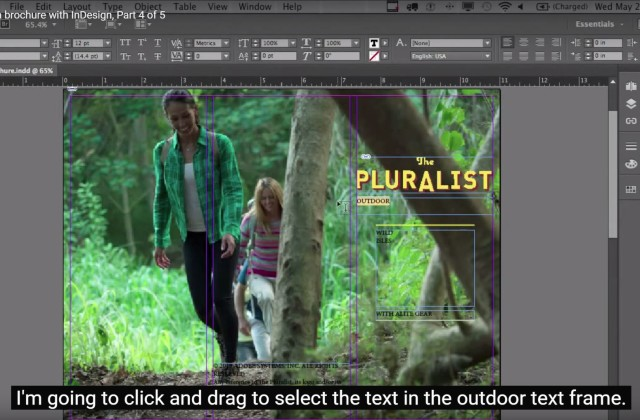Adobe InDesign CC for Beginners: How to Style Your Text