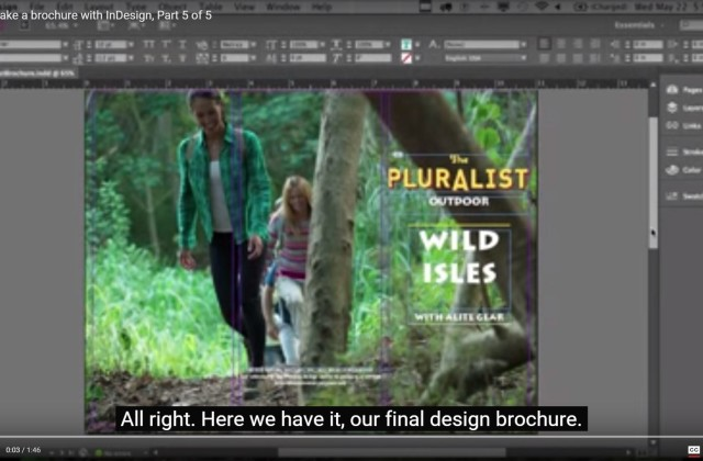 Adobe InDesign CC for Beginners: How to Print an InDesign CC Project