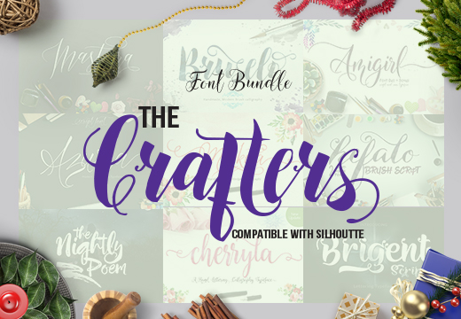 The Crafters Font Bundle (86% off)
