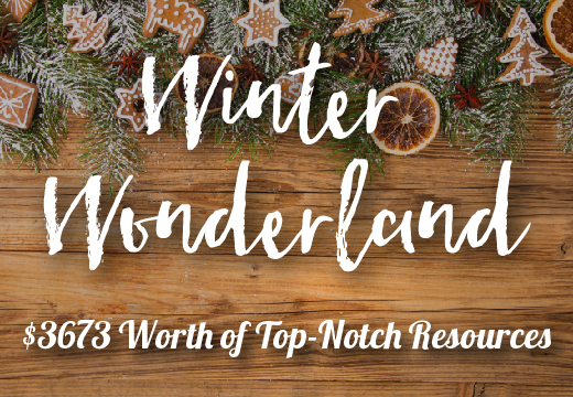 Winter Wonderland: $3,673 worth of Premium Resources (99% off)