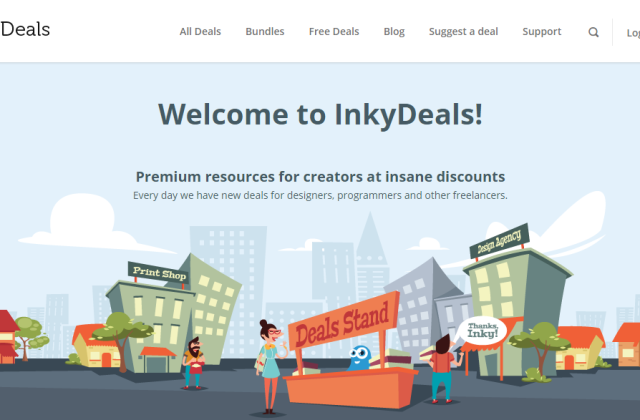 Get a 50% Easter Discount on all InkyDeals