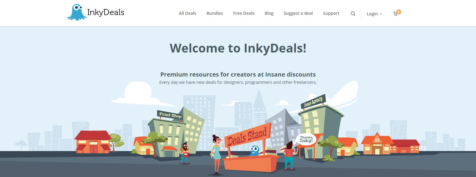 InkyDeals 50% Easter Discount