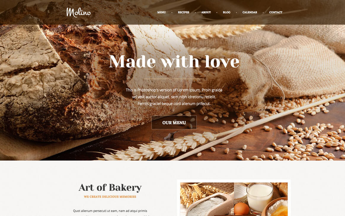 Introducing Molino WordPress Theme by ThemeFuse