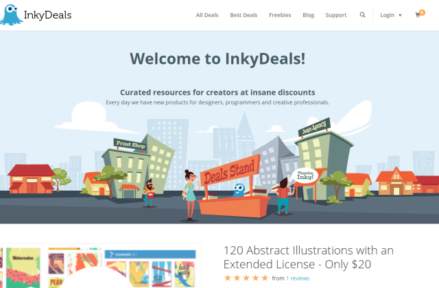 50% OFF Discount on Deals from InkyDeals!