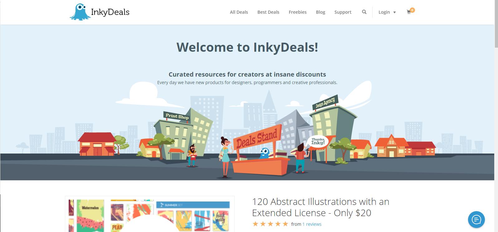 Inky Deals -June 50% Discount