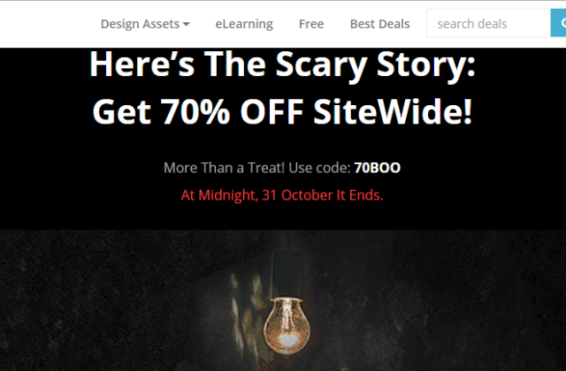 InkyDeals 70% Off Site Wide For Premium Design Resources