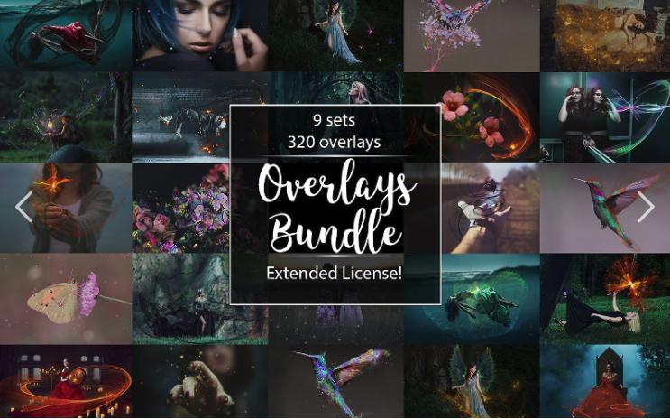 320 Fantasy Overlays Bundle