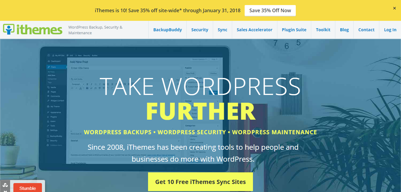 iThemes 10th Anniversary Sale – 35% Discount