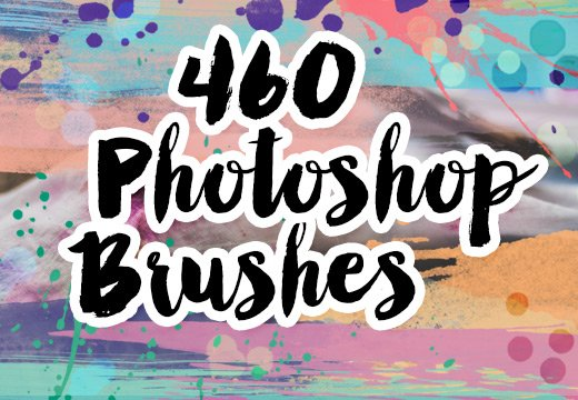 460 Photoshop Brushes for Only $39