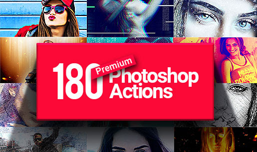 180 Premium Photoshop Actions for Only $29 From InkyDeals