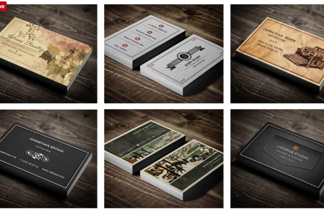 30 Premium Business Card Templates for $14