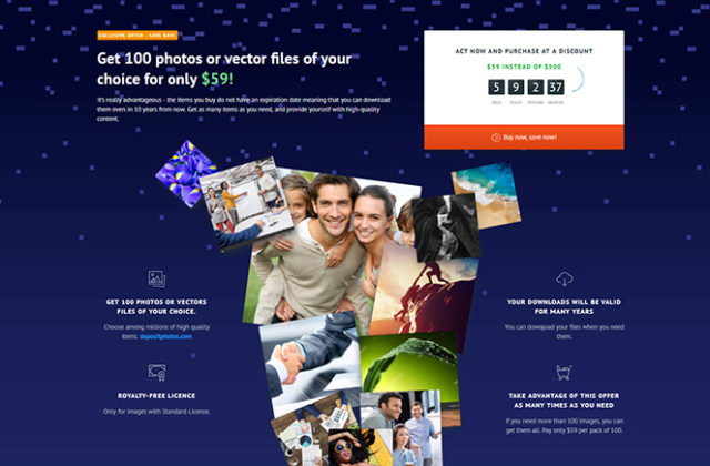 A Short Guide to Saving Money for Web Designers: Make Profit Together with an Exclusive Depositphotos Bundle