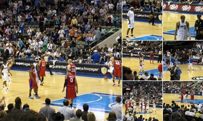 View Dallas Mavericks Verses Los Anegles Clippers