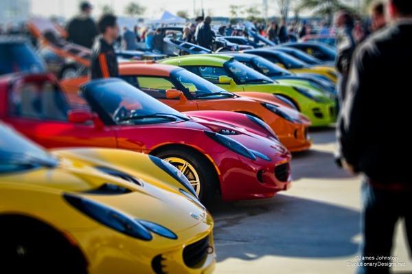 Lotus Club - Cars and Coffee Dallas